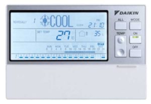 Daikin residential wired controller