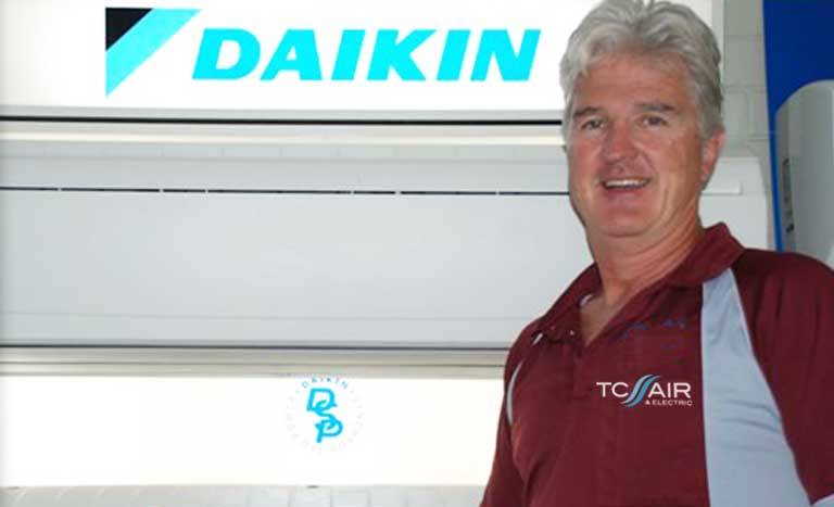 Daikin local dealer network