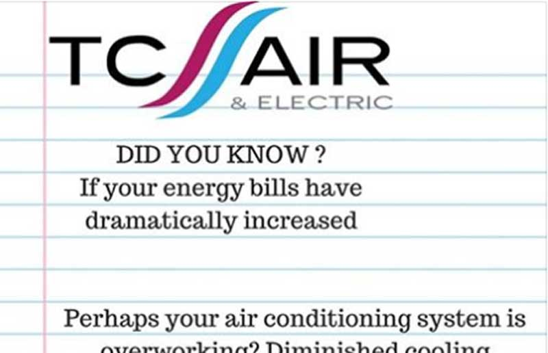 save energy with air con