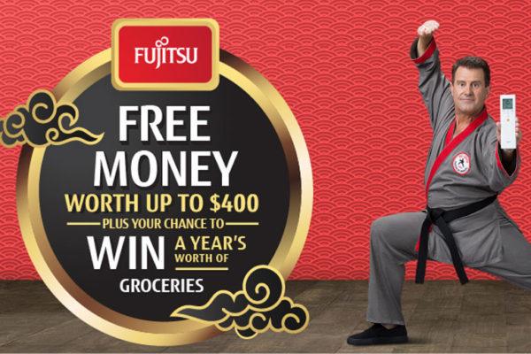 fujitsu split system promo ending 3 september 2018