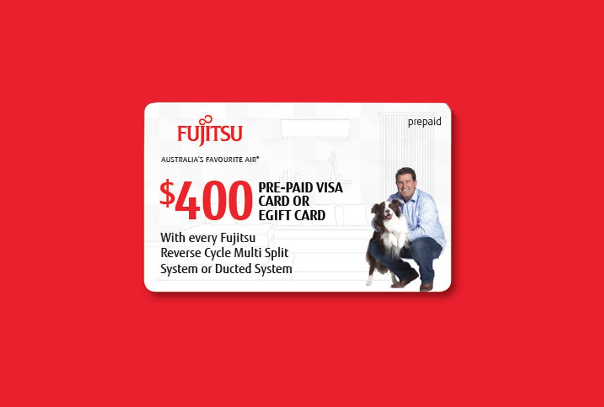 Fujitsu Free Money promo $400